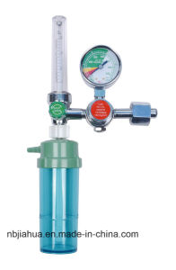 Oxygen Flowmeter Regulator with Humidifier China Factory Ce0120 ISO13485 pictures & photos