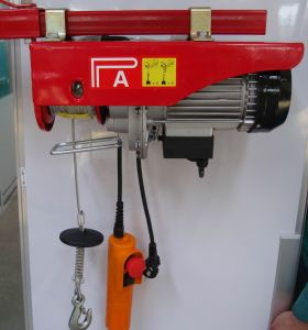 Ce Quality PA Mini Electric Wire Rope Hoist pictures & photos