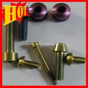 Titanium Fasteners Gr5 with ISO9001: 2008 Certificate pictures & photos