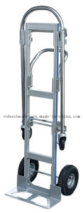 Multi Purpose Foldable Aluminium Hand Trolley (HT143A) pictures & photos