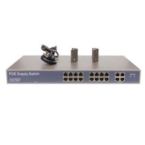 16+4ge Port Uplink Port 10/100Mbps Power Over Ethernet (POE) Switch pictures & photos