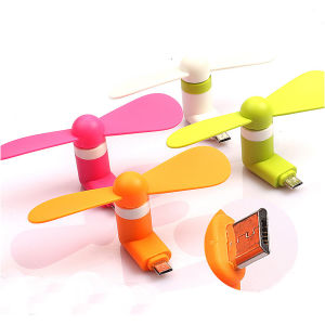 for Android Cell Phone Portable Mini Micro USB Mobilephone Fan Flexible Mini USB Fan pictures & photos