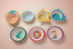 (BC-BP1004) Hot-Sell Bamboo Fiber Tableware Baby Bowl pictures & photos
