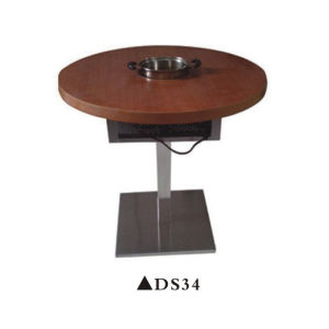 Wooden Hot Pot Table with High Quality pictures & photos
