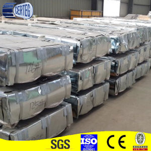 Color Coated or Galvanized Full Hard Corrugated Steel Roofing Sheet pictures & photos