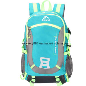 Outdoor Travel Men Women Double Shoulder Sports Backpack Bag (CY3526) pictures & photos