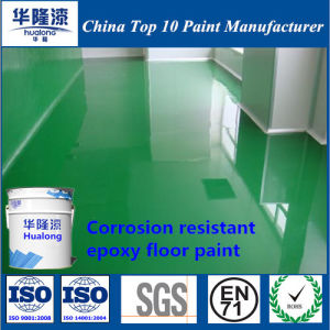 Hualong Vinyl Antiseptic Epoxy Floor Paint/Coatings pictures & photos