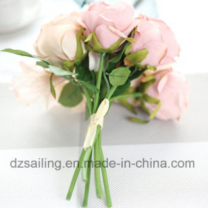 High Quality Royal Rose Bouquet Artificial Flower for Decoration (SF15232) pictures & photos