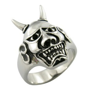 Men Big Heavy Skull Stainless Steel Biker Ring pictures & photos