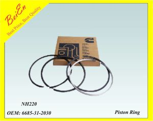 Good Quality Piston Ring for Excavator Engine Nh220 (Part number: 6685-31-2030) pictures & photos