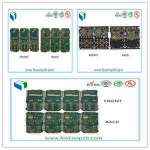 1-8layers Three Models Smart Mobile Phone PCB Board with Enig