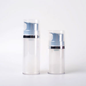 50ml 80ml Plastic Airless Pump Bottle pictures & photos