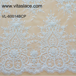 Factory Wholesale Lace Fabric Low Price Wedding VL-60014BC pictures & photos