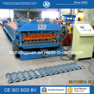 Step Distance Adustable Tile Roll Forming Machine pictures & photos
