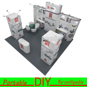 Aluminum Reusable&Portable Project Exhibition Stand Display Booth pictures & photos