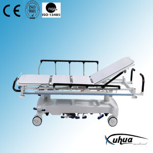 X-ray Transparent Hydraulic Emergency Stretcher (XH-I-4) pictures & photos