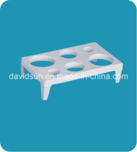 Lab Porcelianware Crucible Shelf pictures & photos