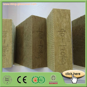 100kg/M3 Rock Wool Board Insulation pictures & photos