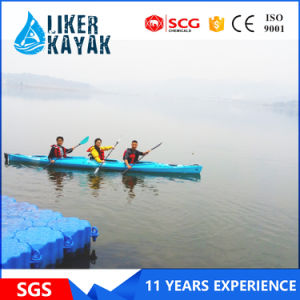 Offer OEM Professional 3 Seat PE Hull Kayak pictures & photos