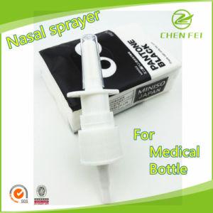 Custom Screw 18/410 Plastic Medical Nasal Sprayer for Bottle
