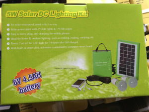 New Portable Solar Power System Kit-03 pictures & photos