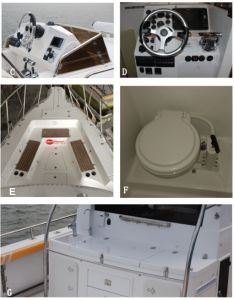 34ft Walkaround Fishing Boat pictures & photos