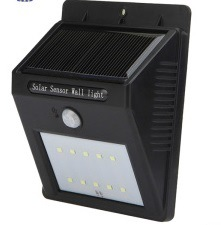 LED Solar Sensor Power Motion Activated Outdoor Wall Light pictures & photos