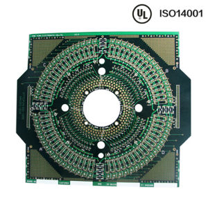 Circuit 4L PCB Board&Green Blue Red Yellow Solder Ink Service pictures & photos
