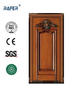 Natural Wooden Door (RA-N007) pictures & photos