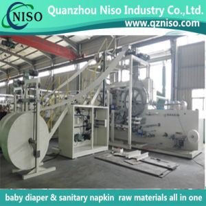 High Speed Semi-Servo Adult Diaper Making Machine with CE Certification pictures & photos