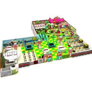 Candy Theme Creative Colorful Kids Funny Land Indoor Playground Slides pictures & photos