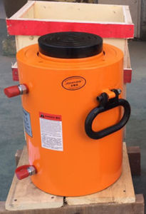 120 Ton Feed-Through Post Tensioning Prestressed Hydraulic Jack pictures & photos