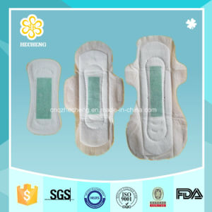 Disposable Anion Sanitary Pads Sanitary Napkins with Breathable Backsheet pictures & photos
