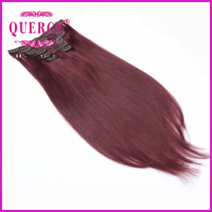 Without Chemical Process Real Virgin Clip in Hair Extension pictures & photos