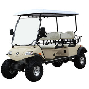4 Seater Lifted Cart Electric Hunting Buggy in The Wild pictures & photos