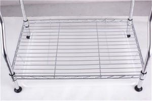DIY Chrome Metal Plate Dish Drainer Rack with Patent Design pictures & photos
