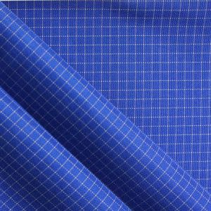 Oxford Polyester Yarn Dyed PVC Ripstop Fabric pictures & photos