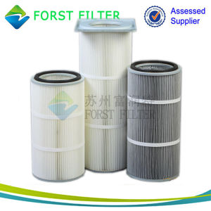 Forst Rectangular PTFE Membrane Polyester Filter Cartridge pictures & photos