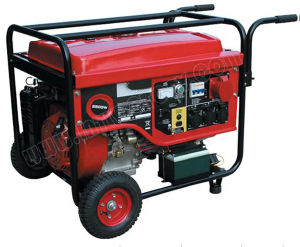 4.5kw Small Portable Gasoline Generator for Household pictures & photos