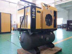 Integrated Packaged Screw Air Compressor (with tank & dryer) - 15HP pictures & photos
