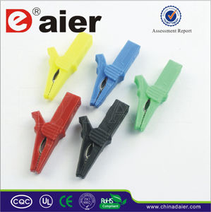 Daier Colcourful 55mm Alligator Clip with Plastic (WD023) pictures & photos