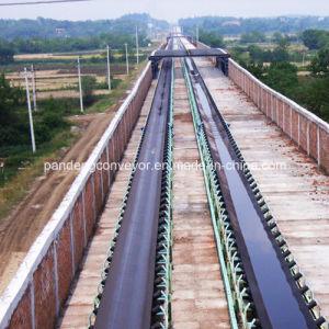 Materials Handling Downward Belt Conveyor / Inclined Conveyor / High Angle Conveyor pictures & photos