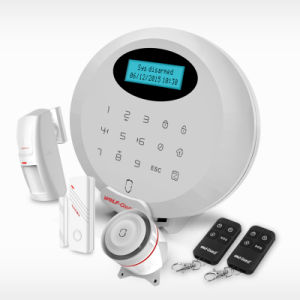 Wolfguard Wireless GSM RFID Home Security Alarm System with APP and RFID pictures & photos