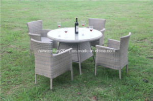 Outdoor Rattan Garden Wicker Table and Chair