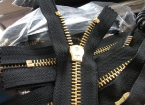 4# Brass Zipper with Yg pictures & photos