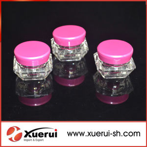 5g Diamond Acrylic Cosmetic Small Cream Jar pictures & photos