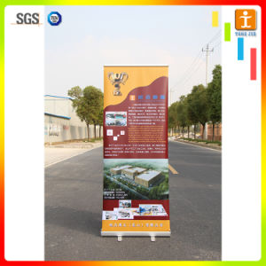 Top Grade Pull up Banner Stand with Aluminum Alloy Waterdrop Stand Base pictures & photos
