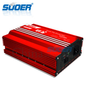 Suoer 1000W 24V 220V Solar DC AC Power Inverter (GTI-D1000B) pictures & photos