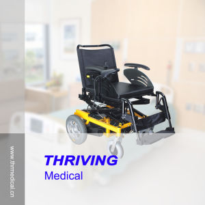 Height Adjustable Electric Wheelchair (THR-EW124) pictures & photos