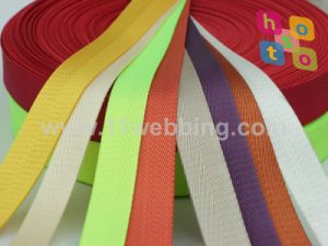 Nylon/Polyester/Polypropylene/Cotton/Jacquard Webbing in Stock to Sale pictures & photos